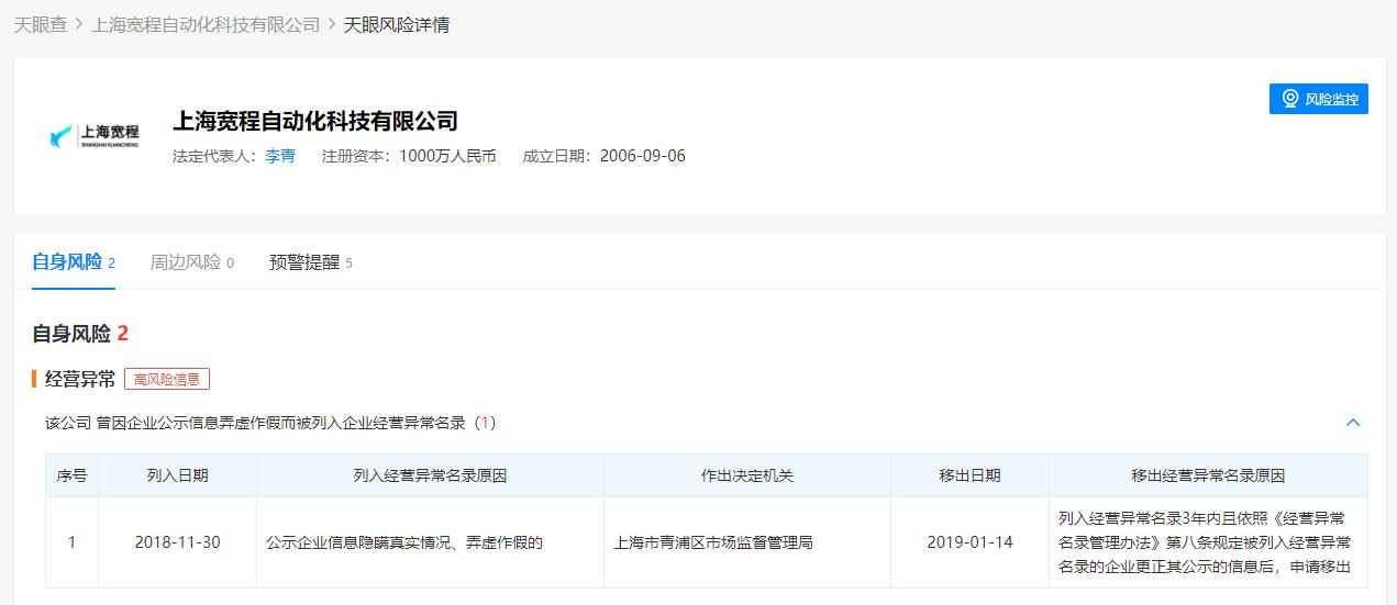 天永智能终止现金收购上海宽程股权并终止对其增资