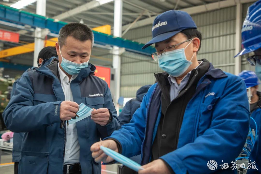 山河智能回应交易所关注函:口罩机为自主知识产权产品,将发货全球支援抗疫