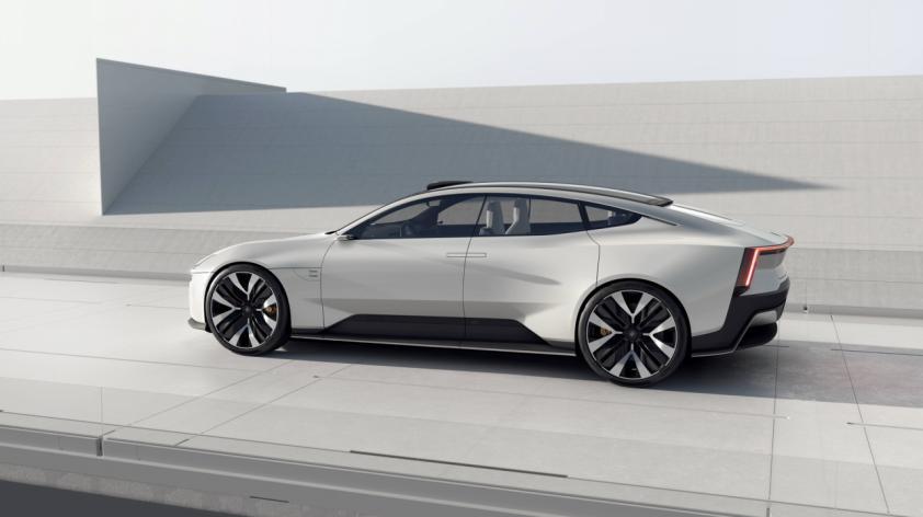 极星汽车发布全新设计极星Precept:极简美学与前沿科技的融合